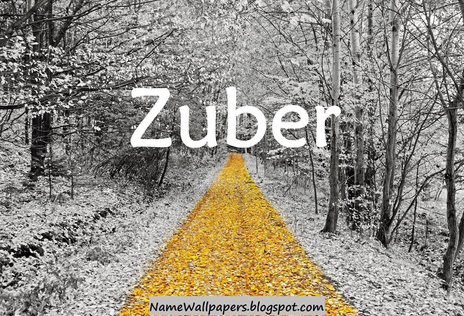 zuber name wallpapers zuber name wallpaper urdu name