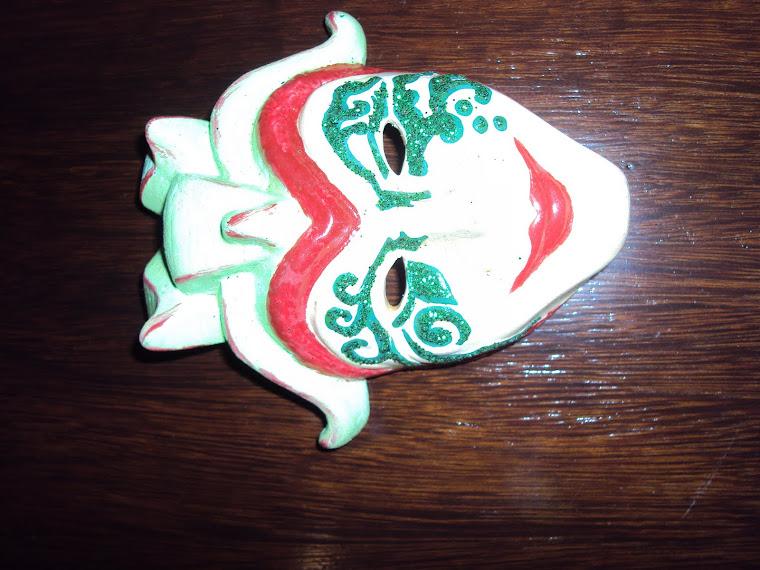 Máscaras de Cerâmica
