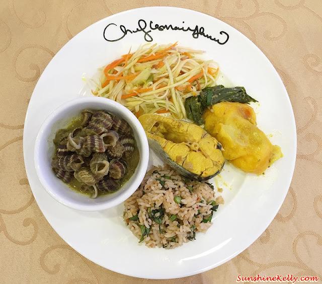 Ramadhan Buffet @ KL Tower, Ramadhan Buffet, KL Tower, Chef Ismail, Siput Sedut, Nasi Ulam,  Kerabu Mangga, Ikan Patin Masak Tempoyak, Telur Itik Masak Lemak