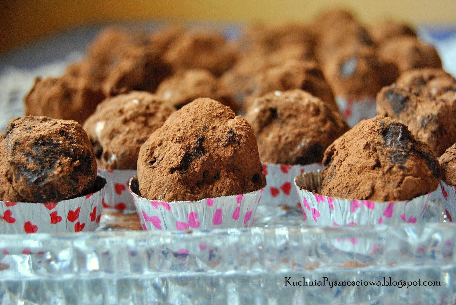 171. Trufle czekoladowe z winem gruszkowym