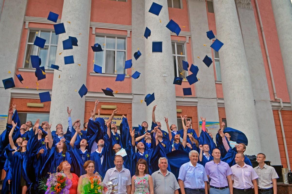 Вручення дипломів спеціаліста випускникам інженерно-енергетичного факультету 2014.