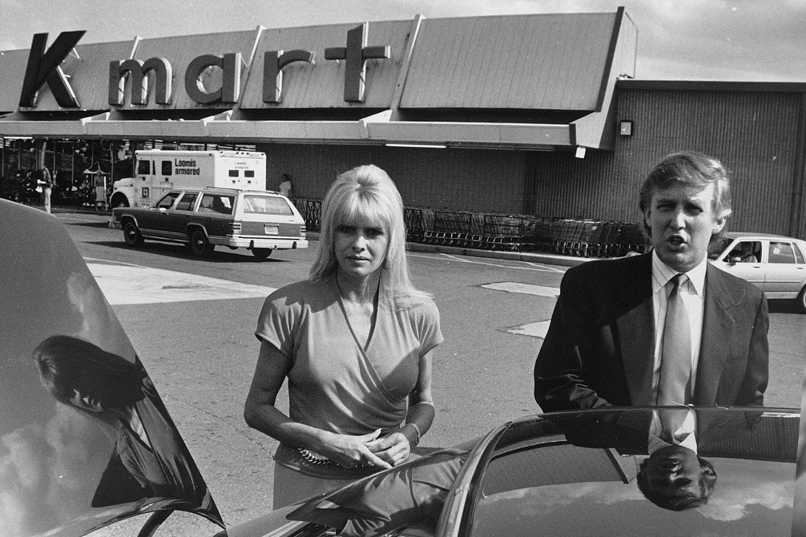 Strick S Pics Donald And Ivana At K Mart