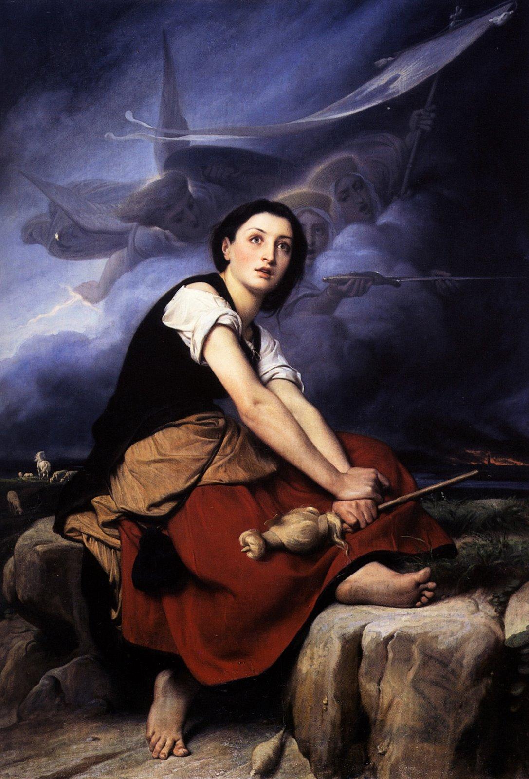 JOANA D'ARC - a santa bruxa guerreira - FLORES DE UM DESERTO