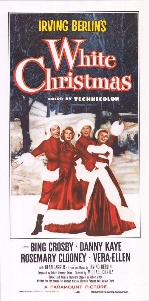 white christmas christmas film movie musical holiday film danny kaye - When Was White Christmas Written
