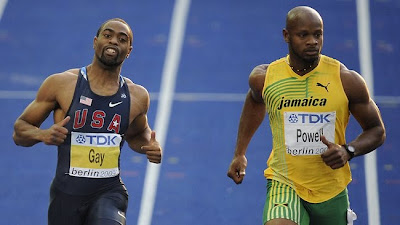 Tyson Gay Asafa Powell Doping