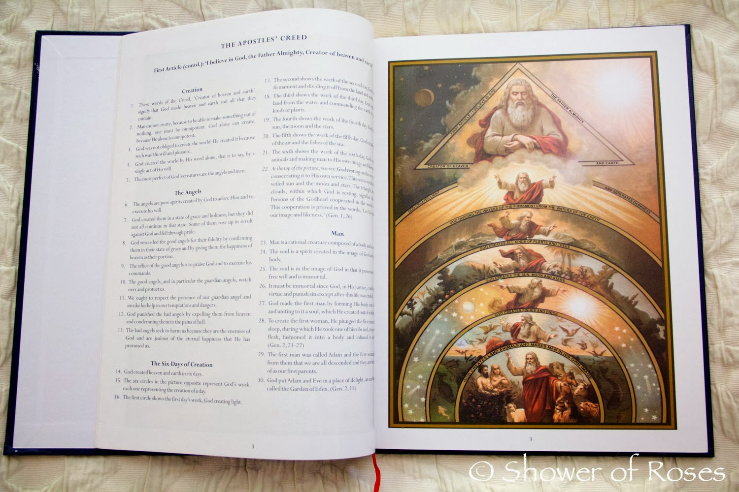 Shower of Roses: The Catechism in Pictures - photo#36