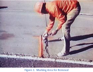 partial depth repair of concrete