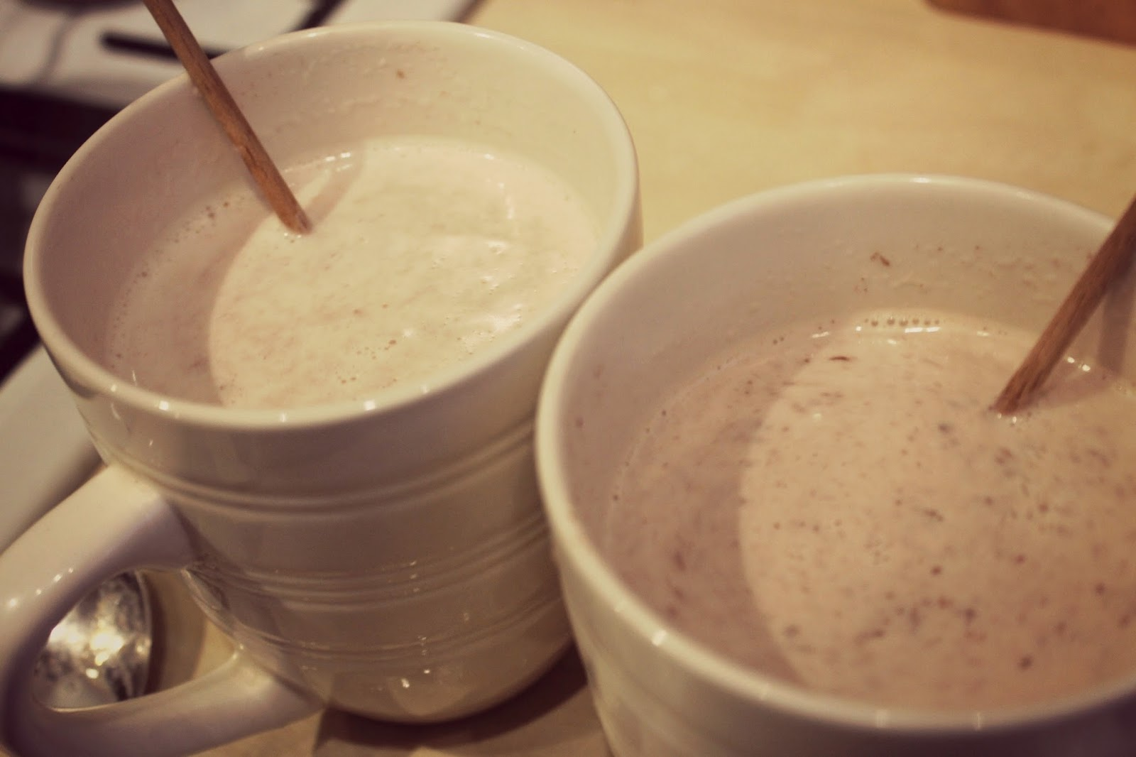 Hot Chocolate on sticks