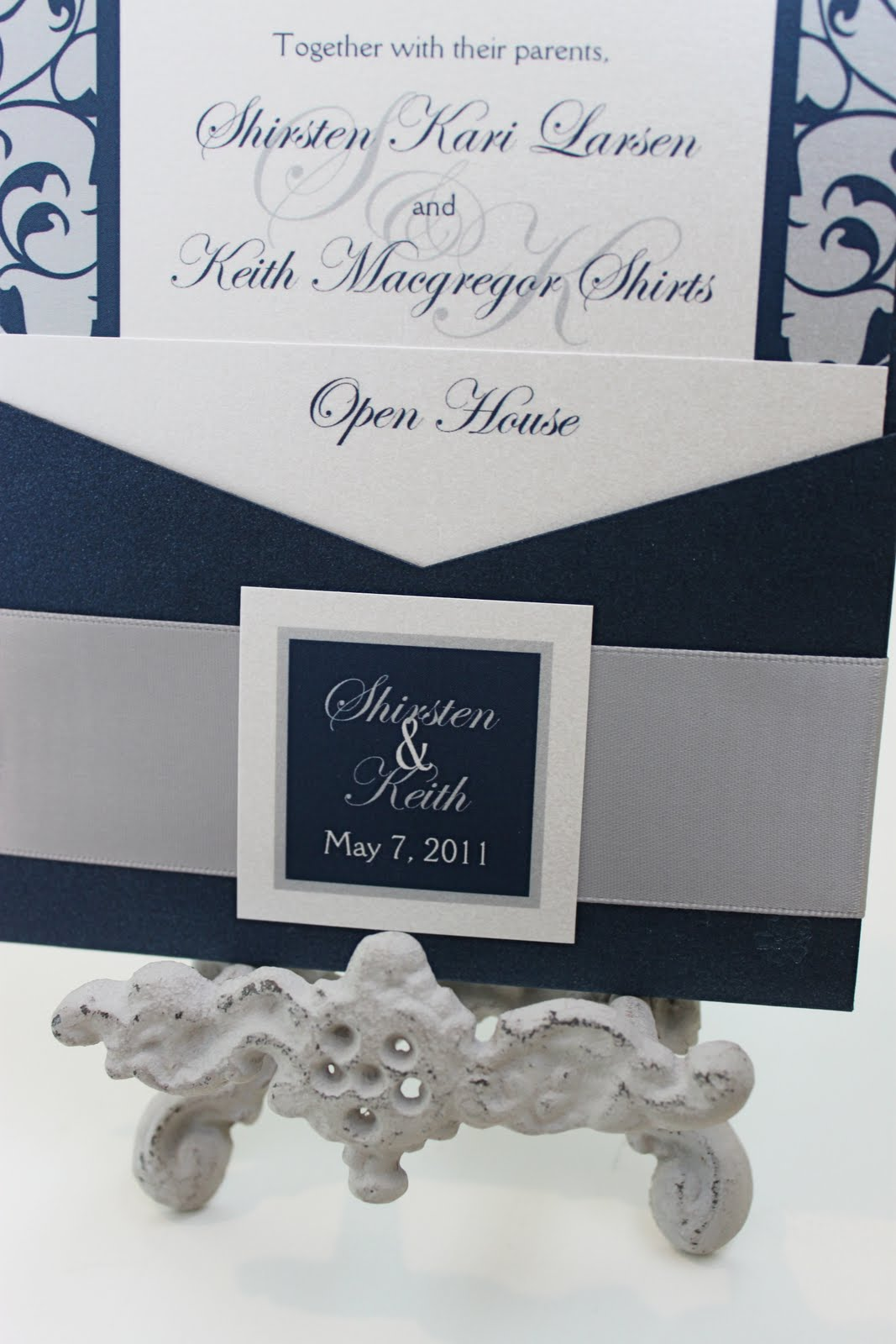 Polka dots daisies feature friday the classic romance invitation if youre looking for a classy invitation thats still very unique glamorous this just might be the one for you stopboris Gallery