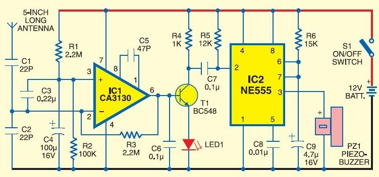 Bluetooth jammer circuit | Is it possible to block mobile phone signals in the whole school?