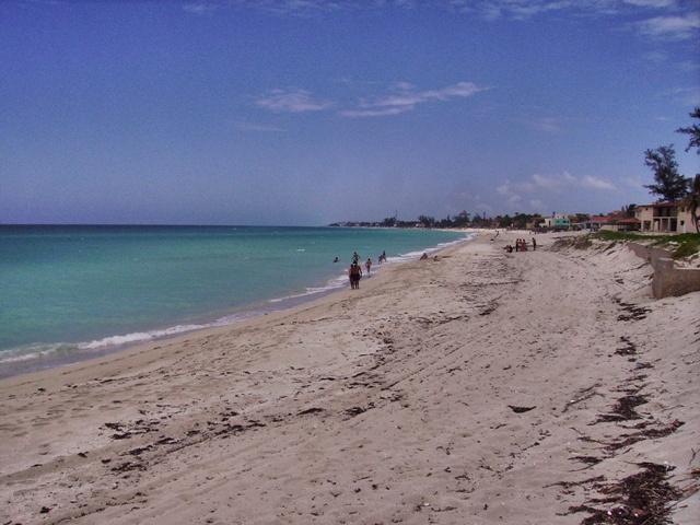 Playa enfrente de la casa de Al Capone