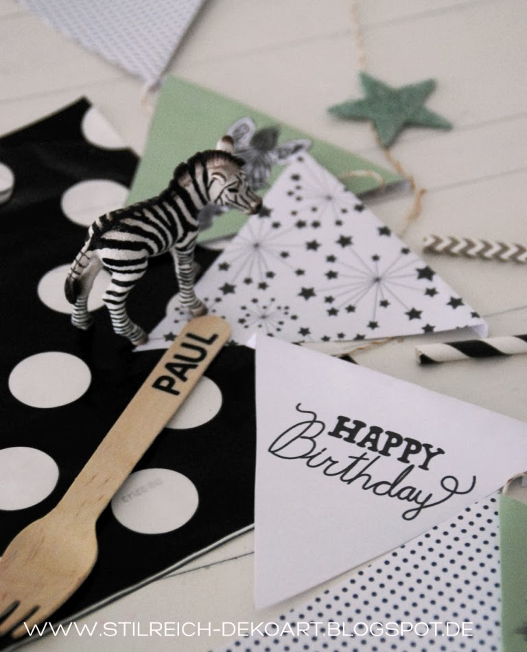 Zebra party gestreift gepunktet und mit m hrchen s - Stilreich blog instagram ...