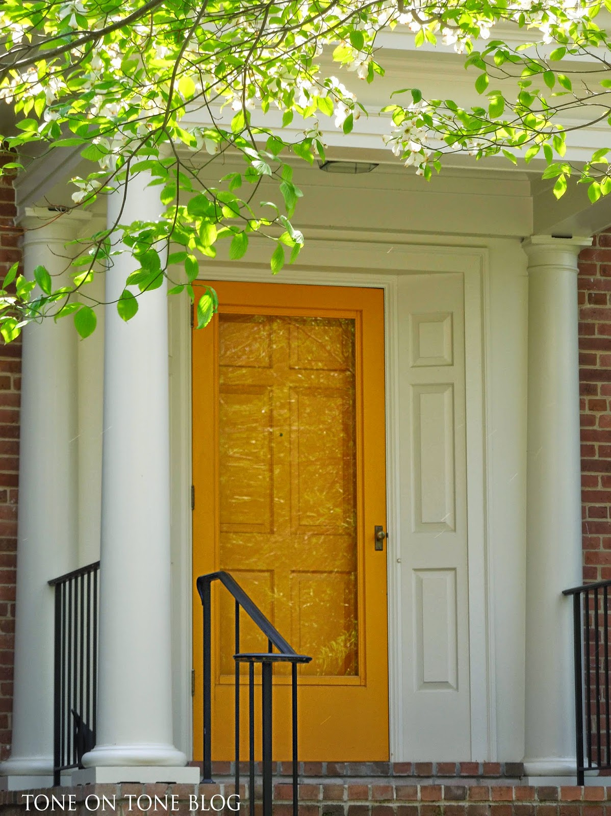 Tone On Tone Interior Garden Design Storm Doors Ideas And Inspirations