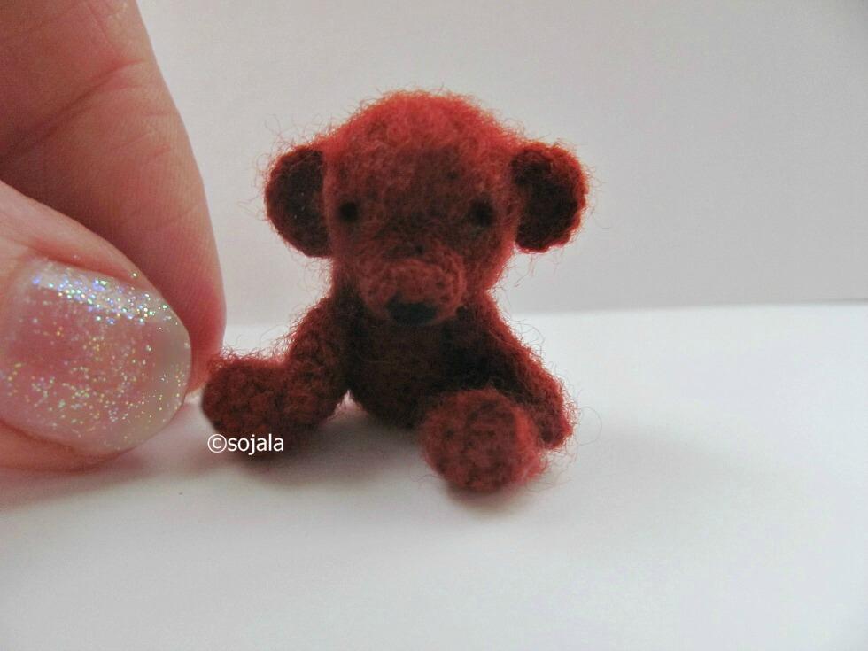 Tiny Teddy Bear ~ Amigurumi To Go