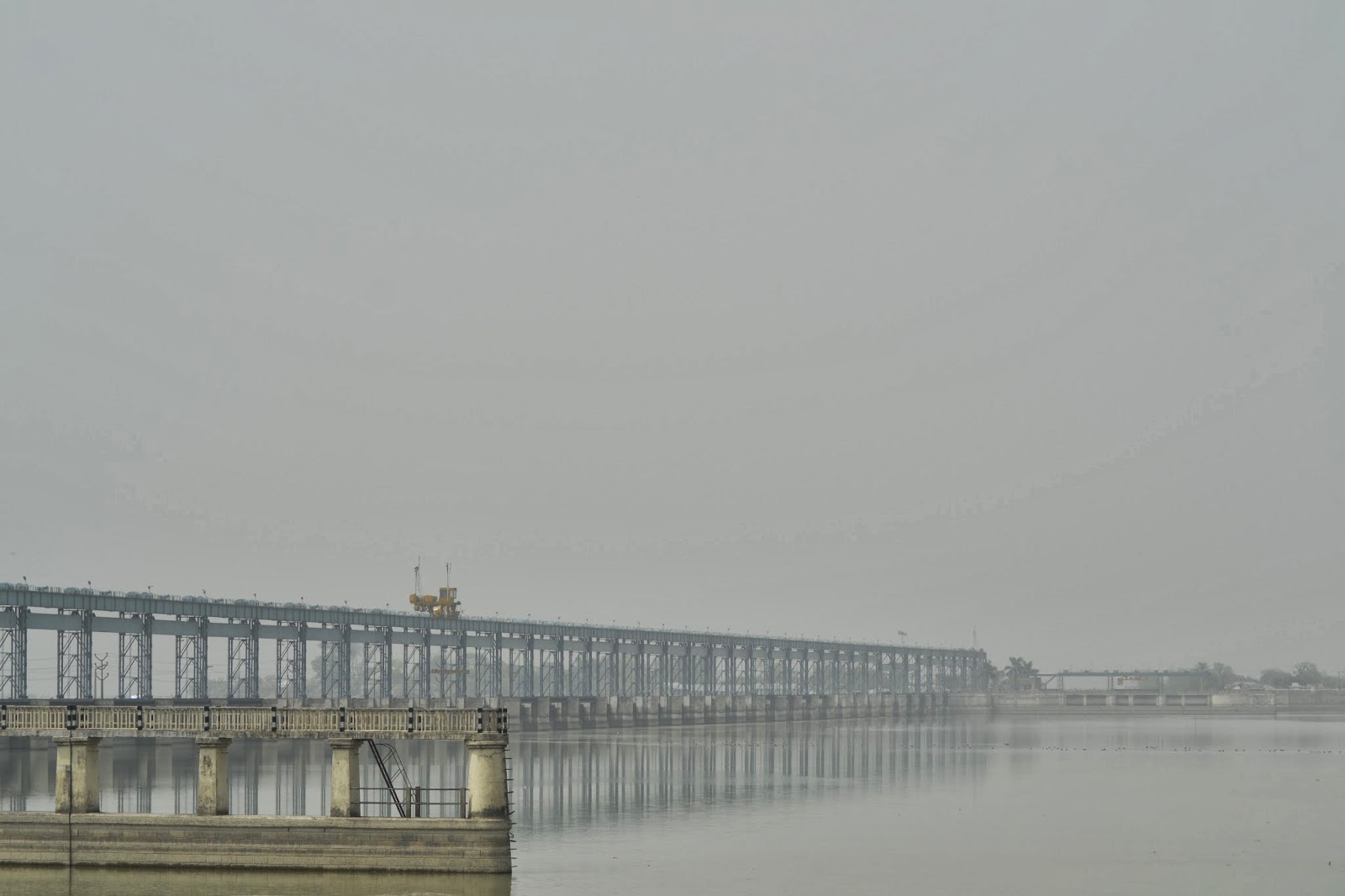 An engineering marvel - Koshi barrage