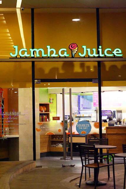 Jamba Juice Robinson's Magnolia entrance