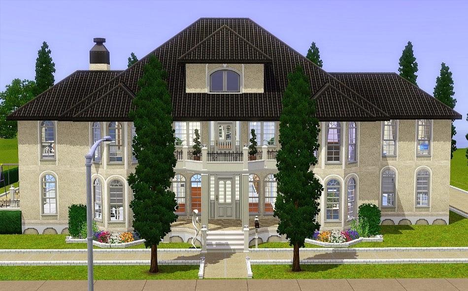 Voqa mais imagens das casas mais bonitas do the sims 3 2 - Casas bonitas sims 3 ...