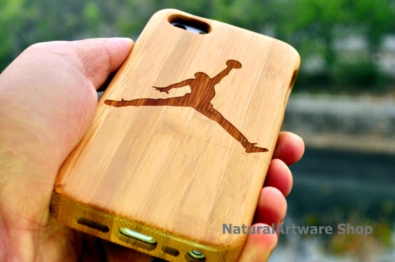 Natural Wood NBA iPhone 6 Plus Case