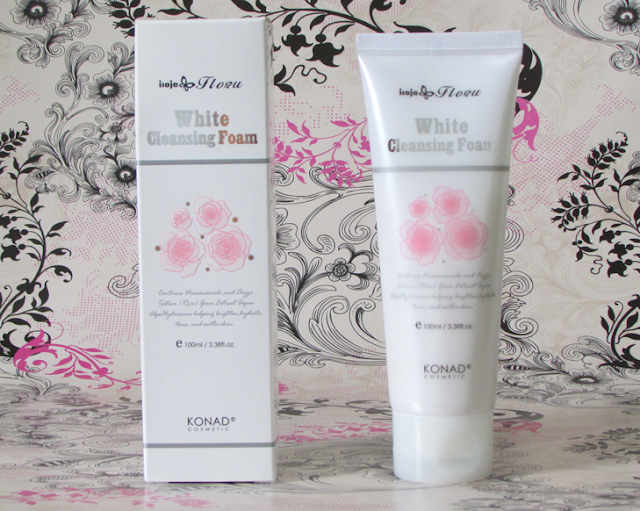 White Cleansing Foam, Resenha, Konad