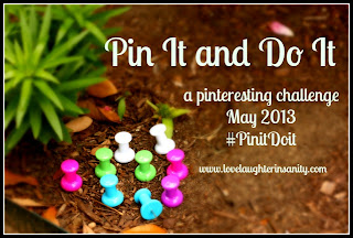 May 2013 Pin it and Do it Round-up