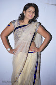 Actress Tanusha Photos in Saree at Present Love Audio-thumbnail-8