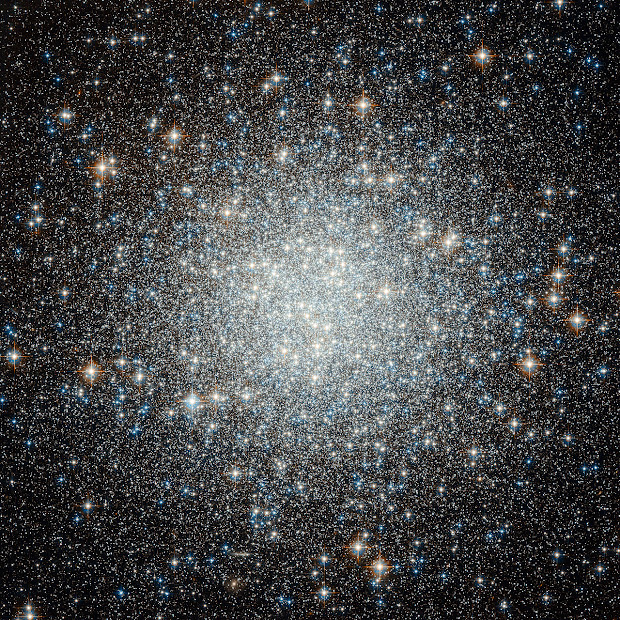 Remote and rebel Globular Cluster M53 spied by Hubble!