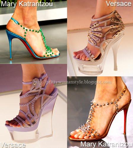 Обувки с кабси