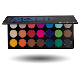 Karity Cosmetics Matte Eyeshadow pallet