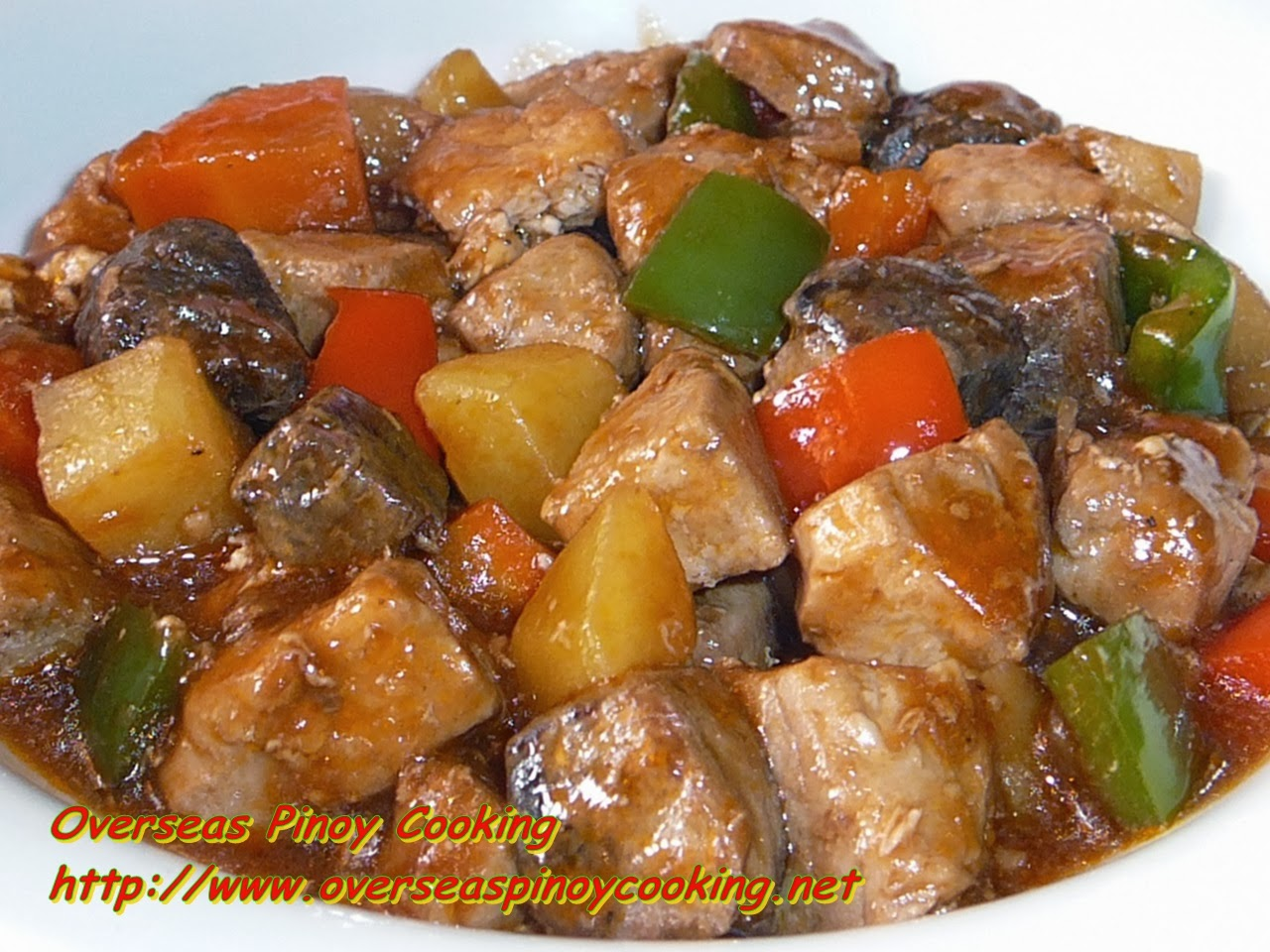 Fish menudo tuna menudo best lutong pinoy for Filipino fish recipes