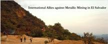 Aliados Internacionales contra la Minería Metálica en El Salvador