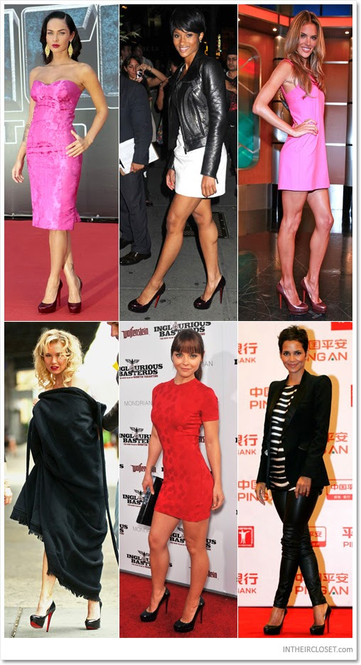 Celebrities Love...Christian Louboutin Daffodile Pumps ...