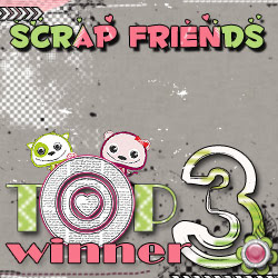 Scrapfriends - Top 3 winner