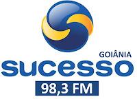 Rádio Sucesso FM 98,3 de Goiânia ao vivo, a Rede Popular do Brasil