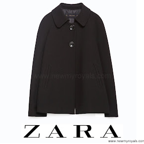 Princess Sofia Style ZARA Pleated Back Cape