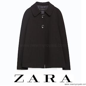 Princess Sofia Style ZARA Pleated Back Cape