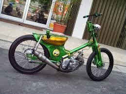 Modifikasi Honda Kalong c70