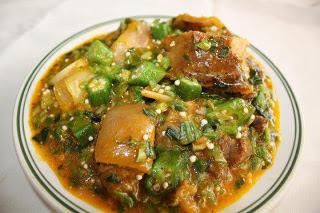 Real Nigerian Okro Soup