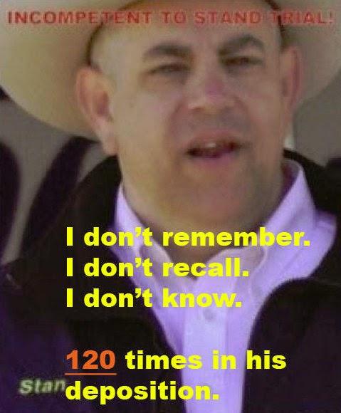 STAN KITZMAN HAS A MEMORY PROBLEM!