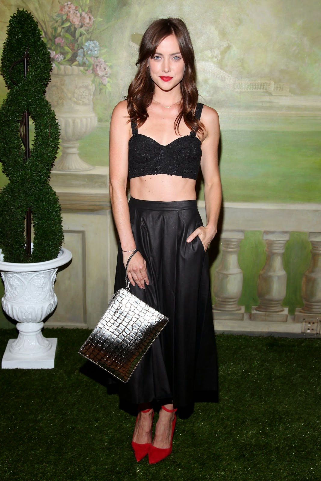 Jessica Stroup - Alice + Olivia Spring 2015 New York Fashion Week Show