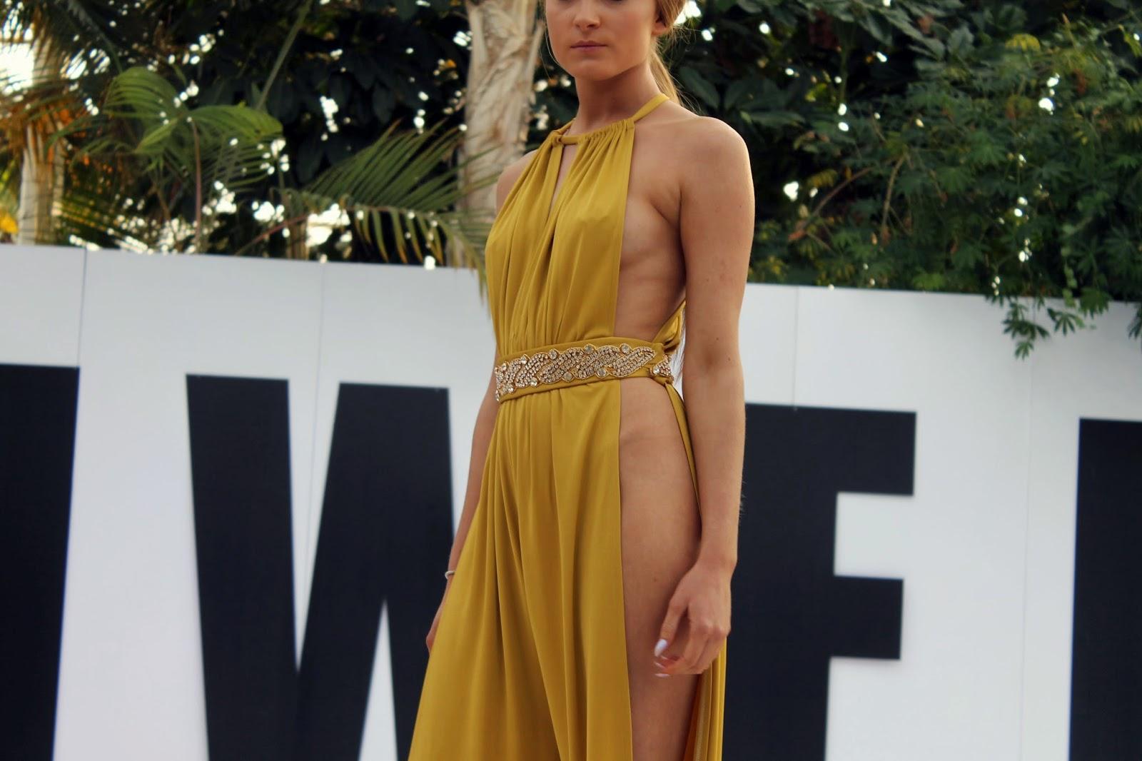 open side dress