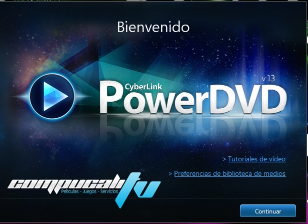 PowerDVD 13 Ultra Español CyberLink Reproductor HD