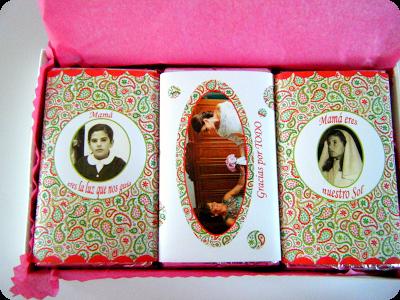 Caja con chocolatinas