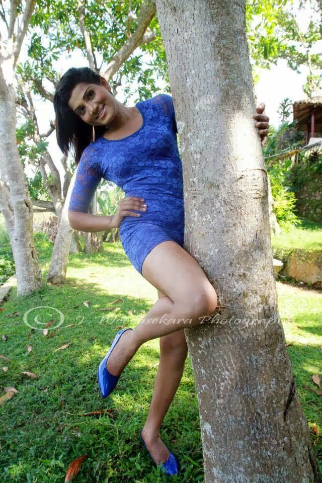 Thilini Gunasekara blue