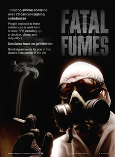 Anti-smoking posters