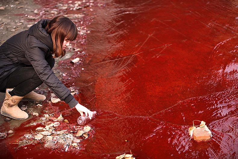 20 Increíbles fotos de la contaminación en China