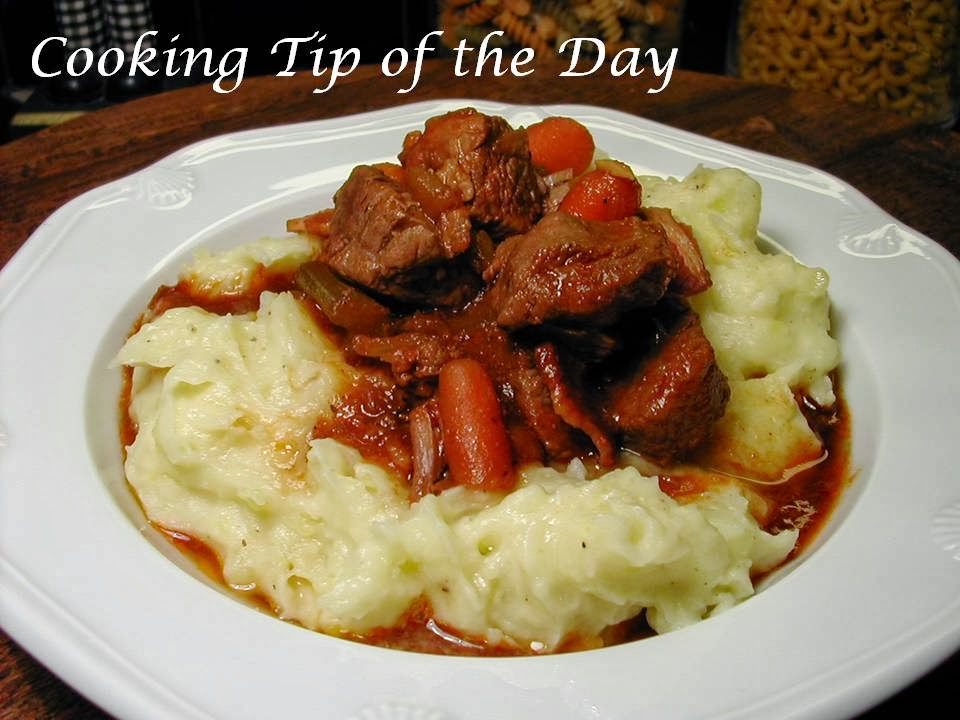 Cooking Tip of the Day: Irish Beef Stew