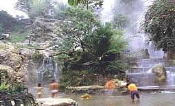 wisata air panas ciataer