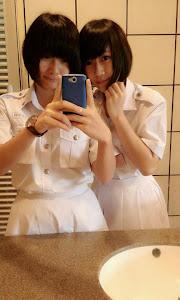 Hiwimi与Wasabi:)♥