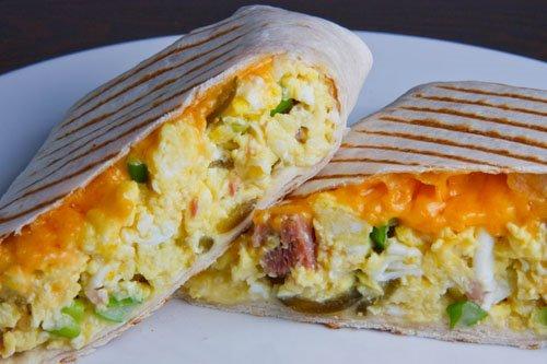 Roasted Veggie and Black Bean Burritos by linktorecipes