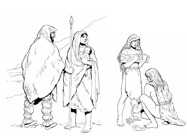 őskori emberek